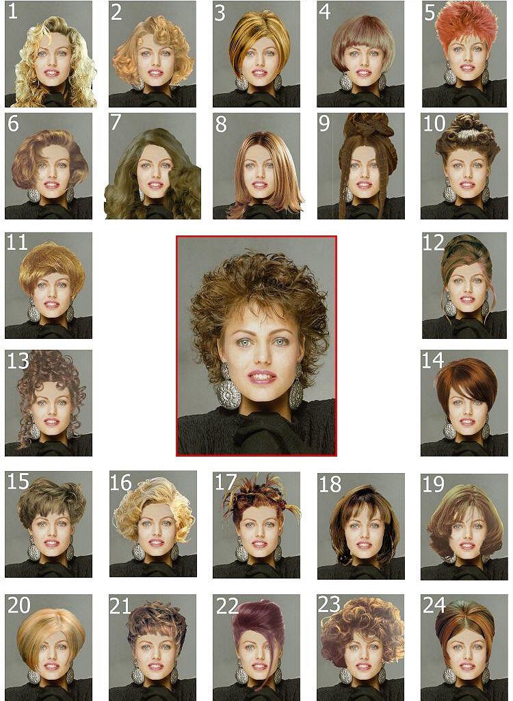 Программа подбора причёсок